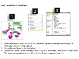 3D Team Supporting To Make Path Business Concept Ppt Graphics Icons Powerpoint