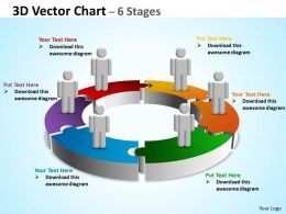 3D Vector Chart 6 Stages