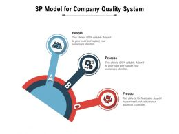3P Model For Company Quality System