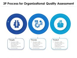 3P Process For Organizational Quality Assessment