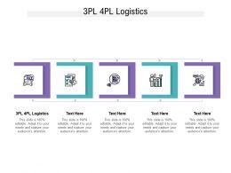 3PL 4PL Logistics Ppt Powerpoint Presentation Pictures Display Cpb