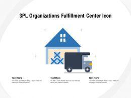 3pl Organizations Fulfillment Center Icon