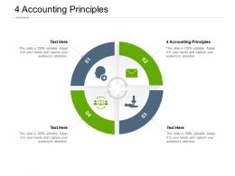 4 Accounting Principles Ppt Powerpoint Presentation Slides Portrait Cpb