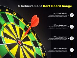 4 Achievement Dart Board Image