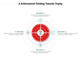 4 Achievement Pointing Towards Trophy