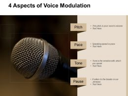4 Aspects Of Voice Modulation