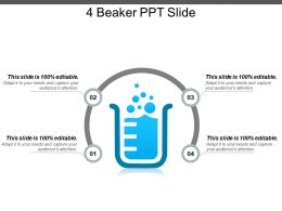 4 Beaker Ppt Slide