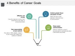 4 Benefits Of Career Goals