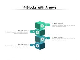 4 Blocks With Arrows