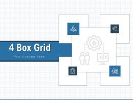 4 Box Grid Process Business Strategic Planning Performance Strategy