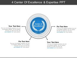 4 Center Of Excellence And Expertise Ppt