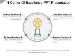 4 Center Of Excellence Ppt Presentation