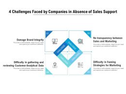 4 Challenges Faced By Companies In Absence Of Sales Support