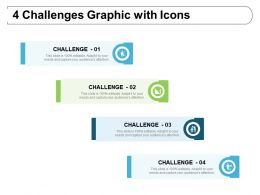 4 Challenges Graphic With Icons
