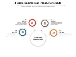 4 Circle Commercial Transactions Slide