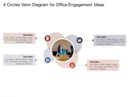 4 Circles Venn Diagram For Office Engagement Ideas Infographic Template