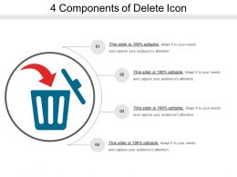 4 Components Of Delete Icon