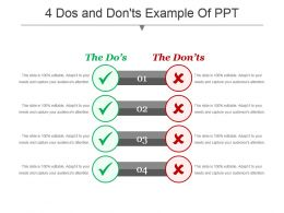 4 Dos And Donts Example Of Ppt