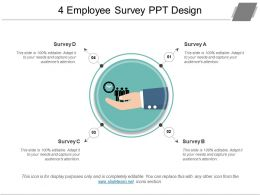 4 Employee Survey Ppt Design