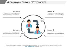 4 Employee Survey Ppt Example