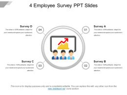 4 Employee Survey Ppt Slides