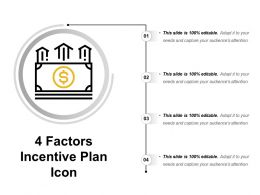 4 Factors Incentive Plan Icon