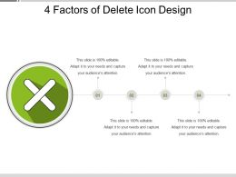 4 Factors Of Delete Icon Designs