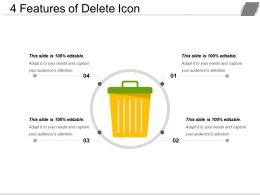 4 Features Of Delete Icon