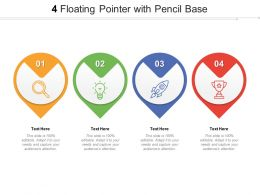 4 Floating Pointer With Pencil Base