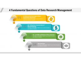 4 Fundamental Questions Of Data Research Management