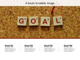 4 Goals Scrabble Image