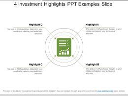 4_investment_highlights_ppt_examples_slide_Slide01