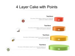 4 Layer Cake With Points