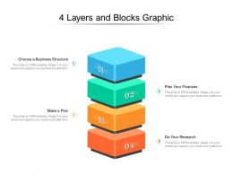 4 Layers And Blocks Graphic