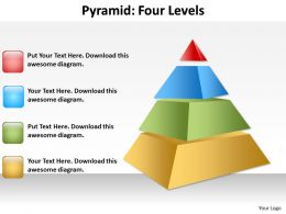 4 Level Pyramid With 3D Design