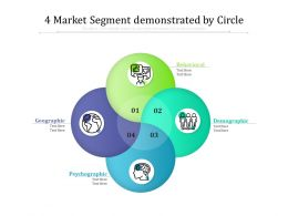 4 Market Segment Demonstrated By Circle