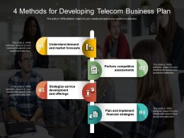 4 Methods For Developing Telecom Business Plan