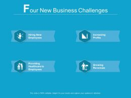 4 New Business Challenges