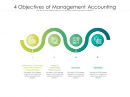 4 Objectives Of Management Accounting
