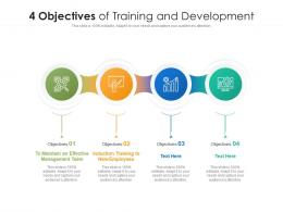 4 Objectives Of Training And Development