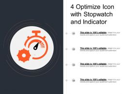 4 Optimize Icon With Stopwatch And Indicator