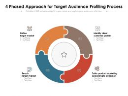 4 Phased Approach For Target Audience Profiling Process