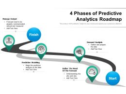 4 Phases Of Predictive Analytics Roadmap