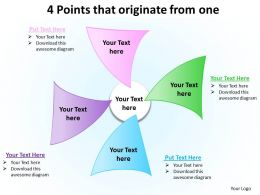 4 Points That Originate From One 2