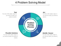 4 Problem Solving Model Sample Of Ppt