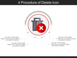 4 Procedure Of Delete Icon