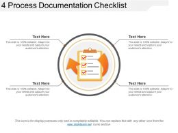 4 Process Documentation Checklist Example Of Ppt