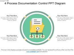 4 Process Documentation Control Ppt Diagram