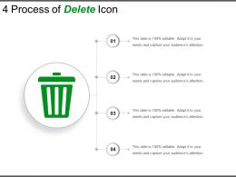 4 Process Of Delete Icon