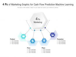4 Ps Of Marketing Graphic For Cash Flow Prediction Machine Learning Infographic Template